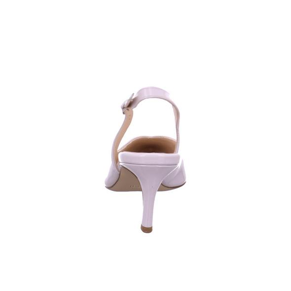 Högl Damen 9-106204-6700 Grauer Lackleder Slingpumps