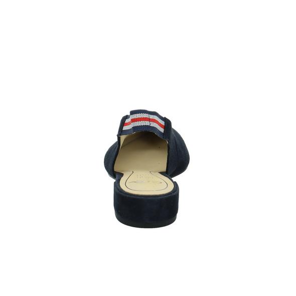 Ara Damen Paris Highsoft Blauer Leder/Textil Slingpumps