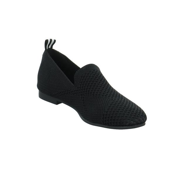 La Strada Damen 1804422-4501A Schwarzer Textil Ballerina