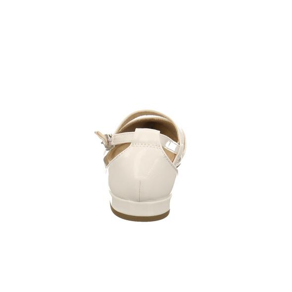 Marco Tozzi Damen 24207-123 Weißer Lack Ballerina