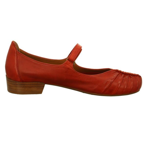 Everybody Damen 30508-2296FIAMMA Rote Glattleder Ballerina