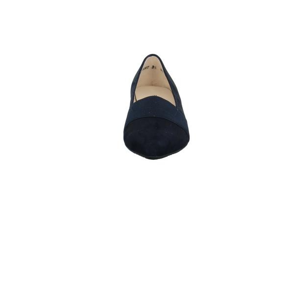 Peter Kaiser Damen Lagos-A Blauer Leder/Textil Pumps
