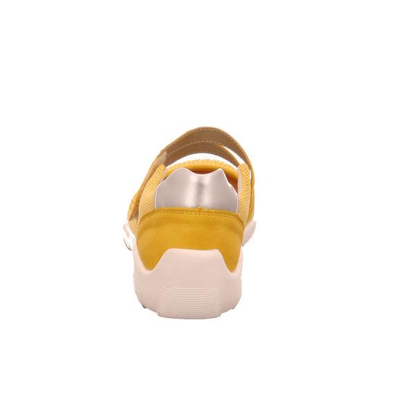 Remonte Damen R3506-68 Gelber Synthetik/Textil Ballerina