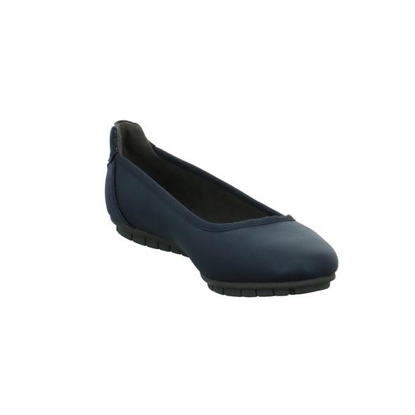 S.Oliver Damen 22119/805 Blauer Synthetik Ballerina