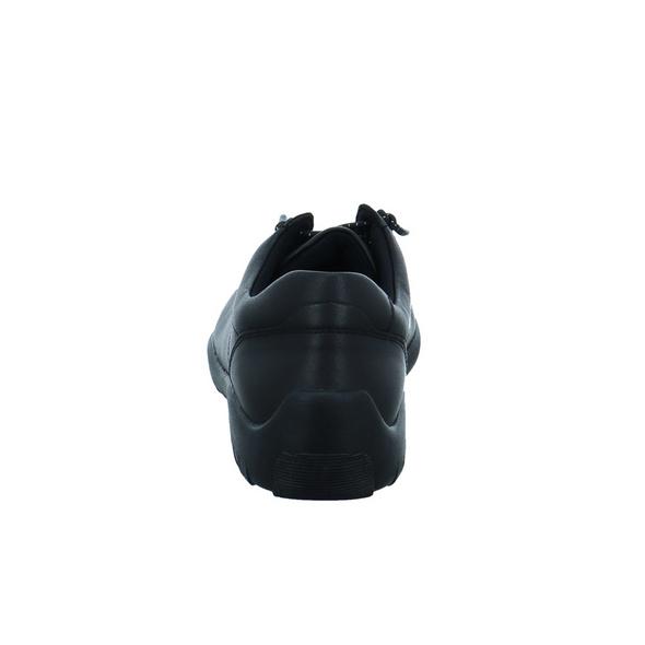 Remonte Damen R3515-02 Schwarzer Glattleder Sneaker
