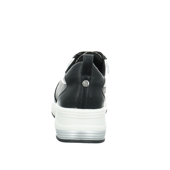 La Strada Damen 2001063-1901 Schwarzer Synthetik Sneaker mit Keilabsatz