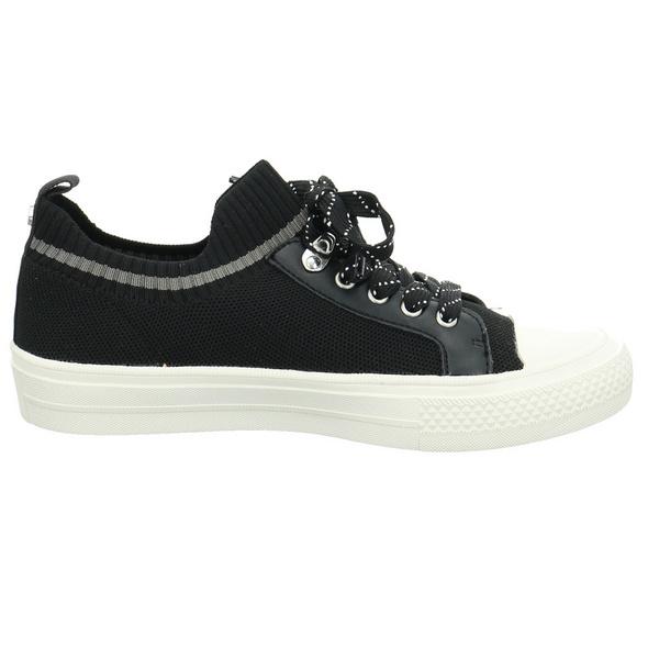 La Strada Damen 1905354-4501 Schwarzer Textil Sneaker