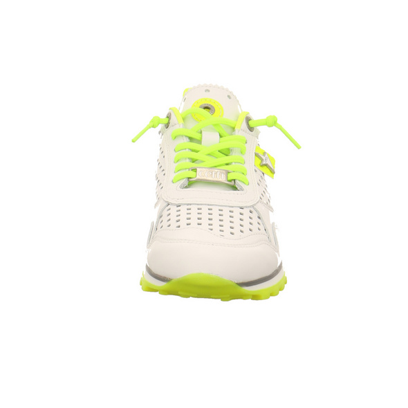 Cetti Damen C-848 Weiße Glattleder Sneaker