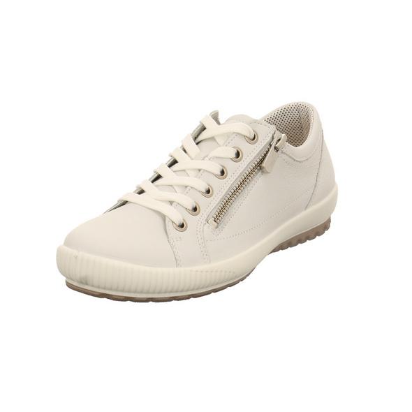 Legero Damen 00818-10 Weiße Glattleder Sneaker