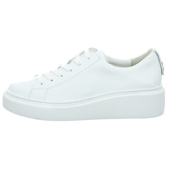 Paul Green Damen 4836-086 Weiße Glattleder Sneaker