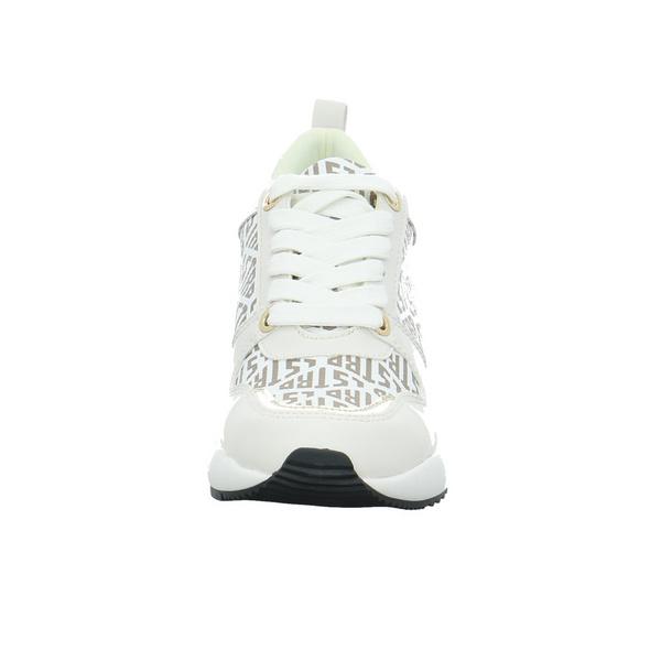 La Strada Damen 2001063-1005 Weißer Synthetik Sneaker