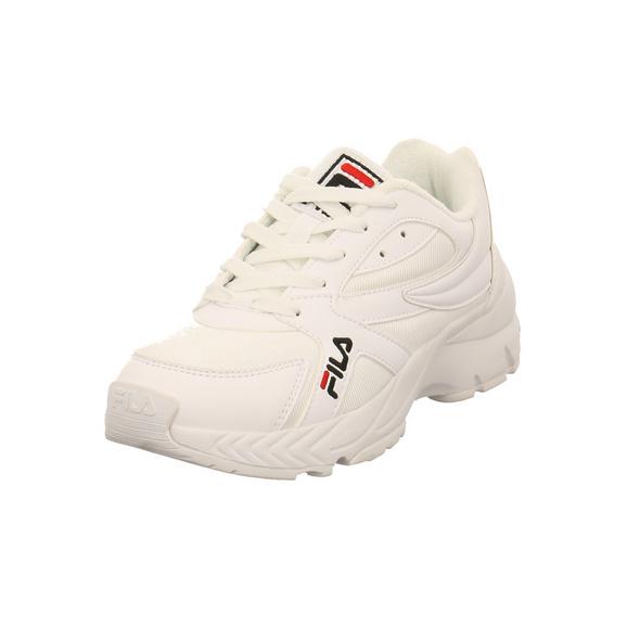 Fila Damen Hyperwalker Low WMNS Weißer Synthetik/Textil Sneaker