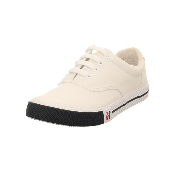 Romika Damen Soling Weißer Textil Sneaker