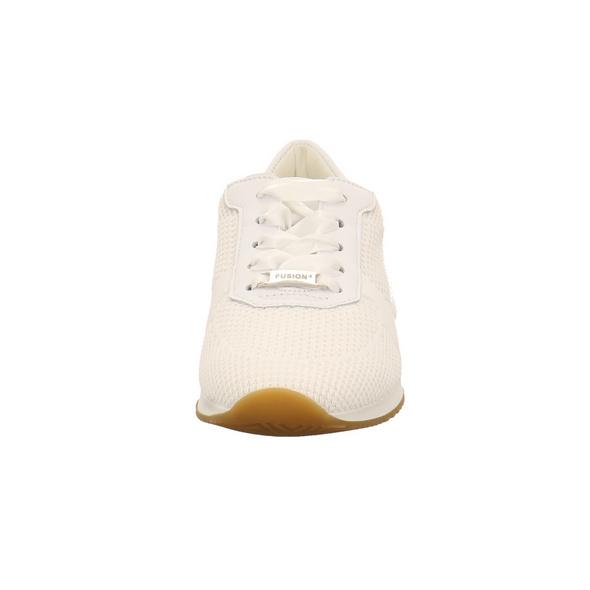 Ara Damen Lissabon-Fusion 4 Weiße Glattleder Sneaker