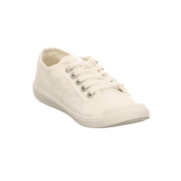 Blowfish Damen Vesper Weißer Textil Sneaker