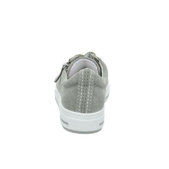 Gabor comfort Damen 66-518-41 Grauer Veloursleder Sneaker