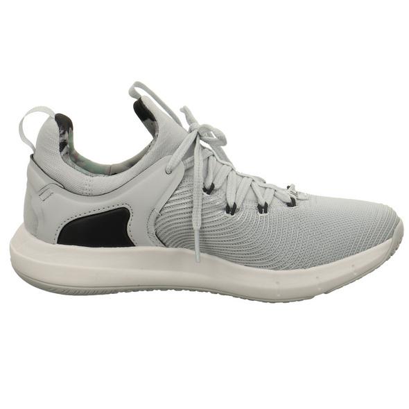 Under Amour Damen W Hover Rise 2 Lux Grauer Synthetik/textil Sneaker