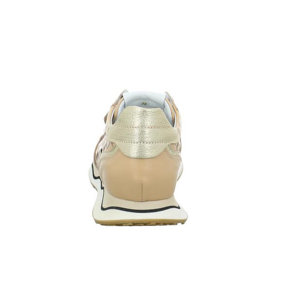 Maripe Damen Candice-1 Alfa Beigefarbener Glattleder Sneaker