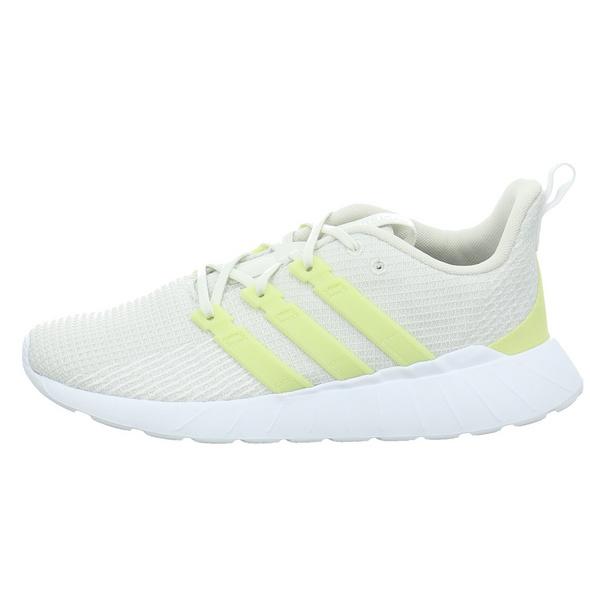 Adidas Damen Questar Flow Beigefarbener Textil Sneaker