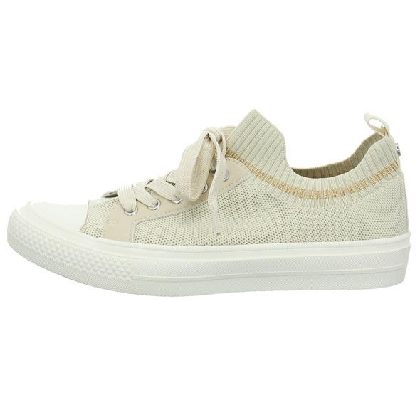 La Strada Damen 1905354-4522 Beigefarbener Textil Sneaker