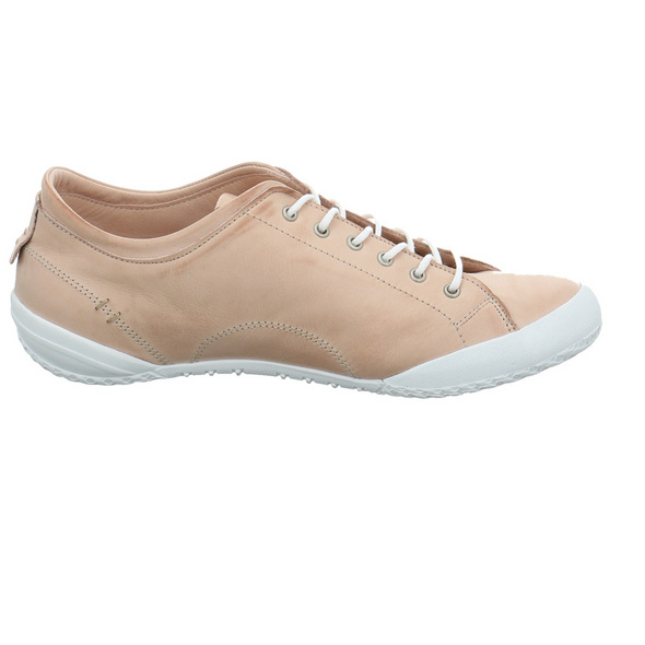 Andrea Conti Damen 0340559-114 Roséfarbener Glattleder Sneaker
