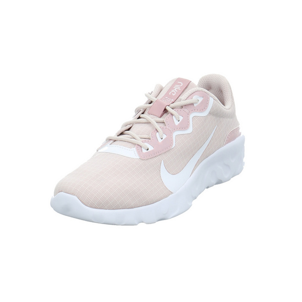 Nike Damen WMNS Explore Rosefarbener Textil Sneaker