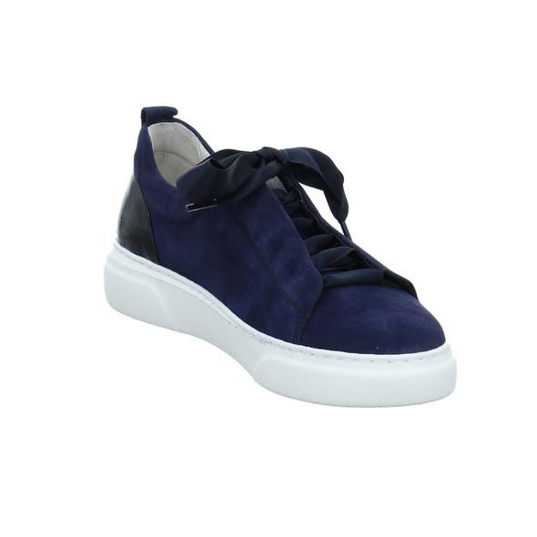Gabor Damen 63-315-16 Blauer Veloursleder Sneaker