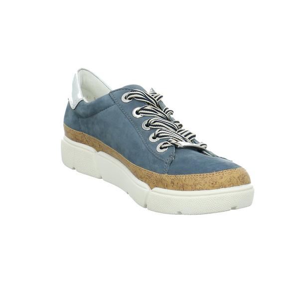 Ara Damen Rom Sport Highsoft Blauer Synthetik Sneaker