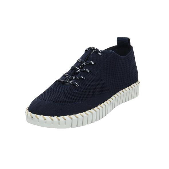 La Strada Damen 1903190-4560 Blaue Textil Sneaker