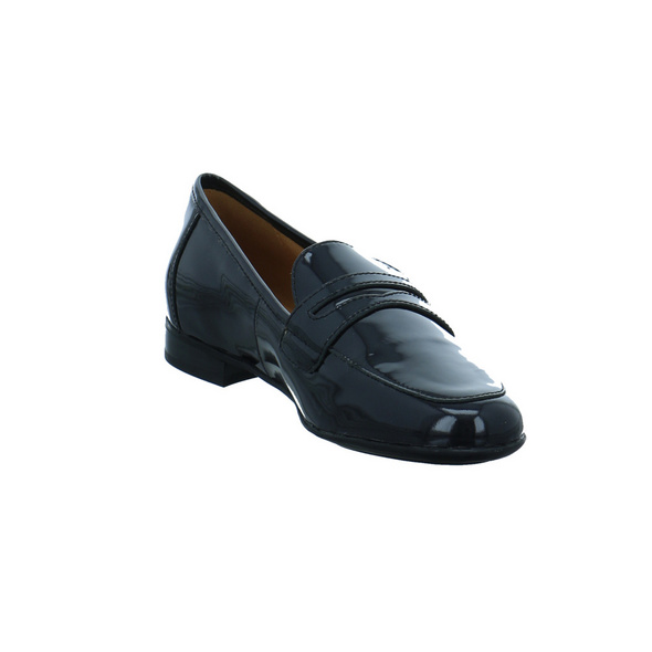 Caprice Damen 24202-018 Schwarzer Lack Slipper