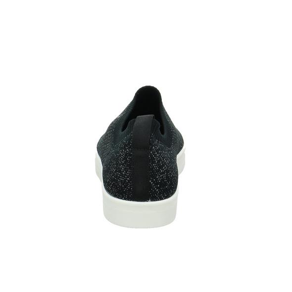 Caprice Damen 24209-035 Schwarzer Textil Slipper