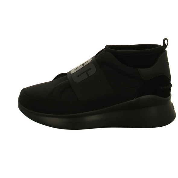 UGG Damen W Neutra 1095097-BKBK Schwarzer Textil Sneaker
