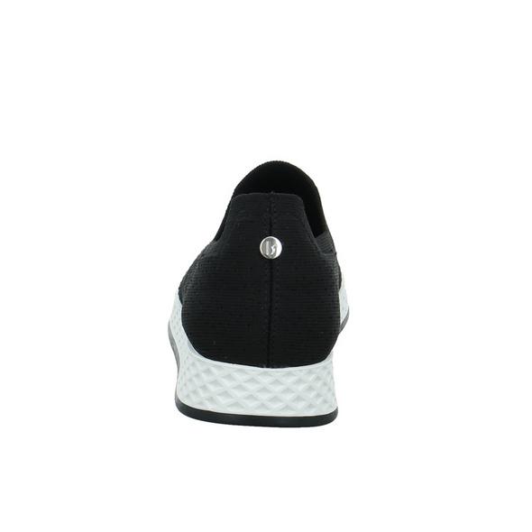 La Strada Damen 2000969-4501 Schwarzer Textil Slipper