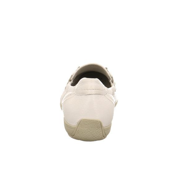 Capice Damen 24661-105 Weiße Glattleder Mokassins