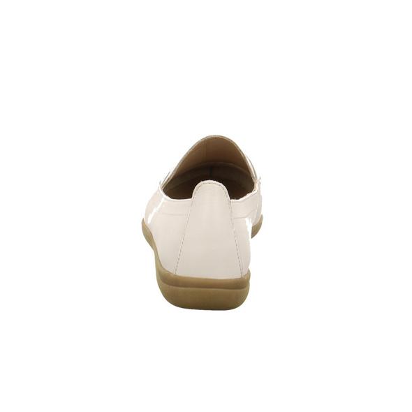 Jana Damen 24600-108 Weißer Glattleder Slipper