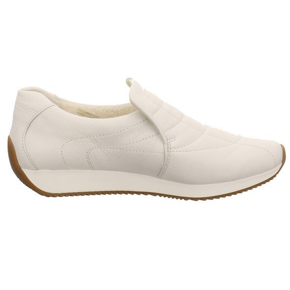 Ara Damen Gil 2.0 High Soft Weißer Glattleder Slipper