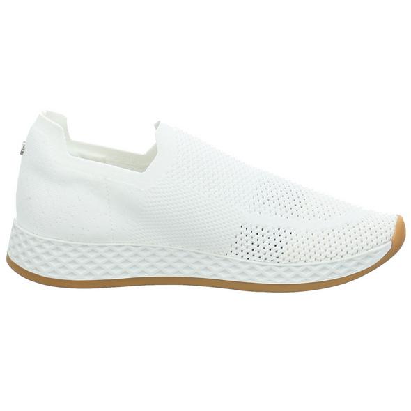 La Strada Damen 2000969-4504 Weißer Textil Slipper