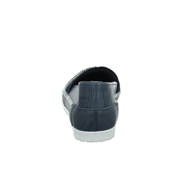 Andrea Conti Damen 0029612-017 Blaue Glattleder Slipper