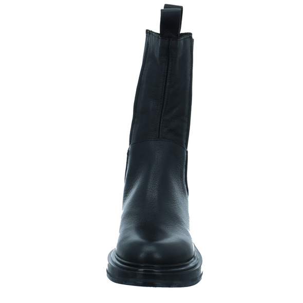 Mjus Damen Morgana Schwarzer Leder/textil Boot