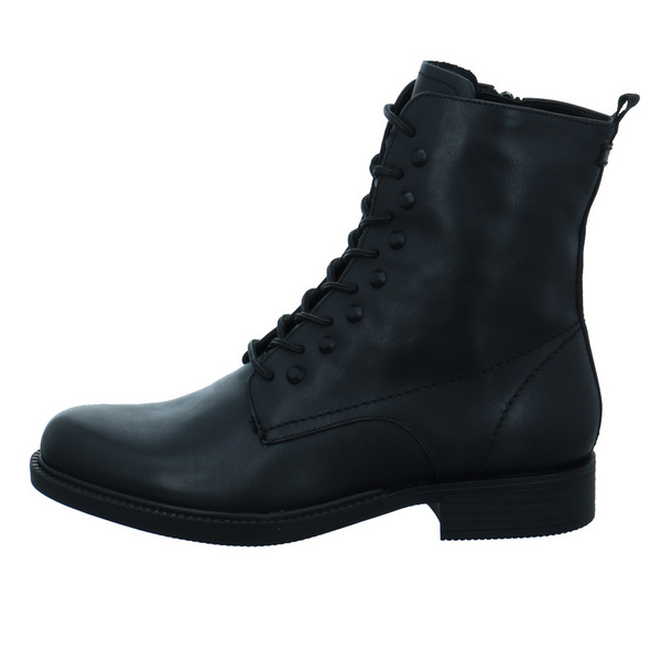 Tamaris Damen 25107-001 Schwarzer Leder Boot