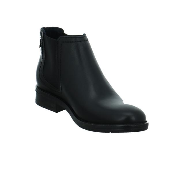 Mustang Damen 2872503-9 Schwarzer Leder/Textil Chelsea Boot