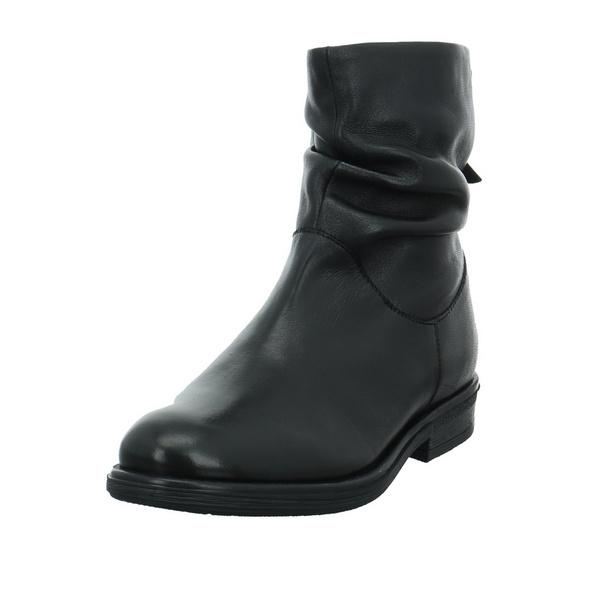 S.Oliver Damen 25357-001 Schwarzer Glattleder Boot