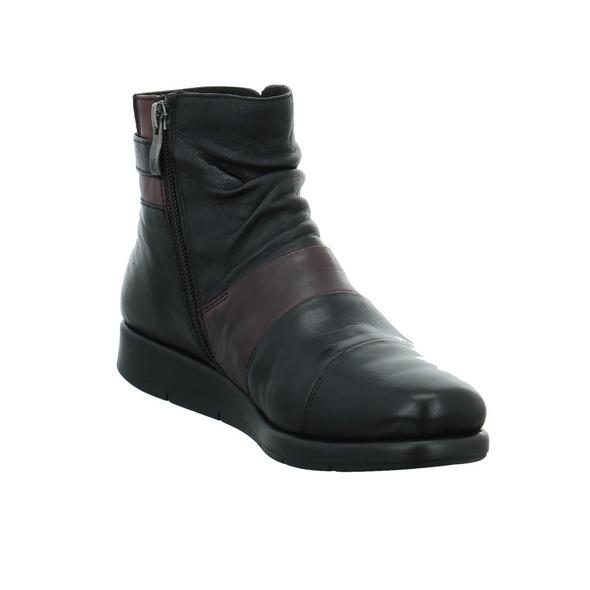 Caprice Damen 25456-024 Schwarzer Glattleder Boot