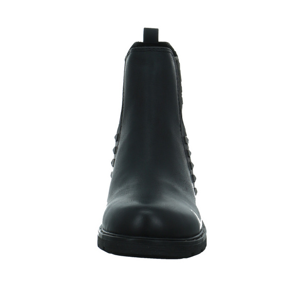 Marco Tozzi Damen 25471-002 Schwarzer Synthetik Chelsea Boot