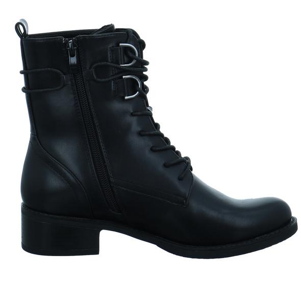 Tom Tailor Damen 9096102 BLACK Schwarzer Synthetik Boot
