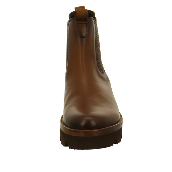 Gabor Damen 34-720-24 Brauner Glattleder Chelsea Boot