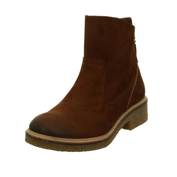 Camel active Damen Palm 78 Braune Veloursleder Boots