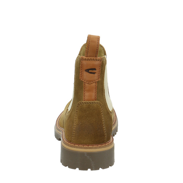 Camel active Damen Park Brauner Leder/Textil Boot