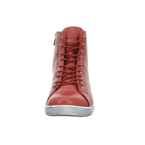 Andrea Conti Damen 0341500-770 Roter Glattleder Boot