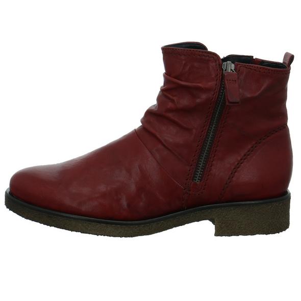 Gabor Damen 32-702-18 Rote Glattleder Stiefelette
